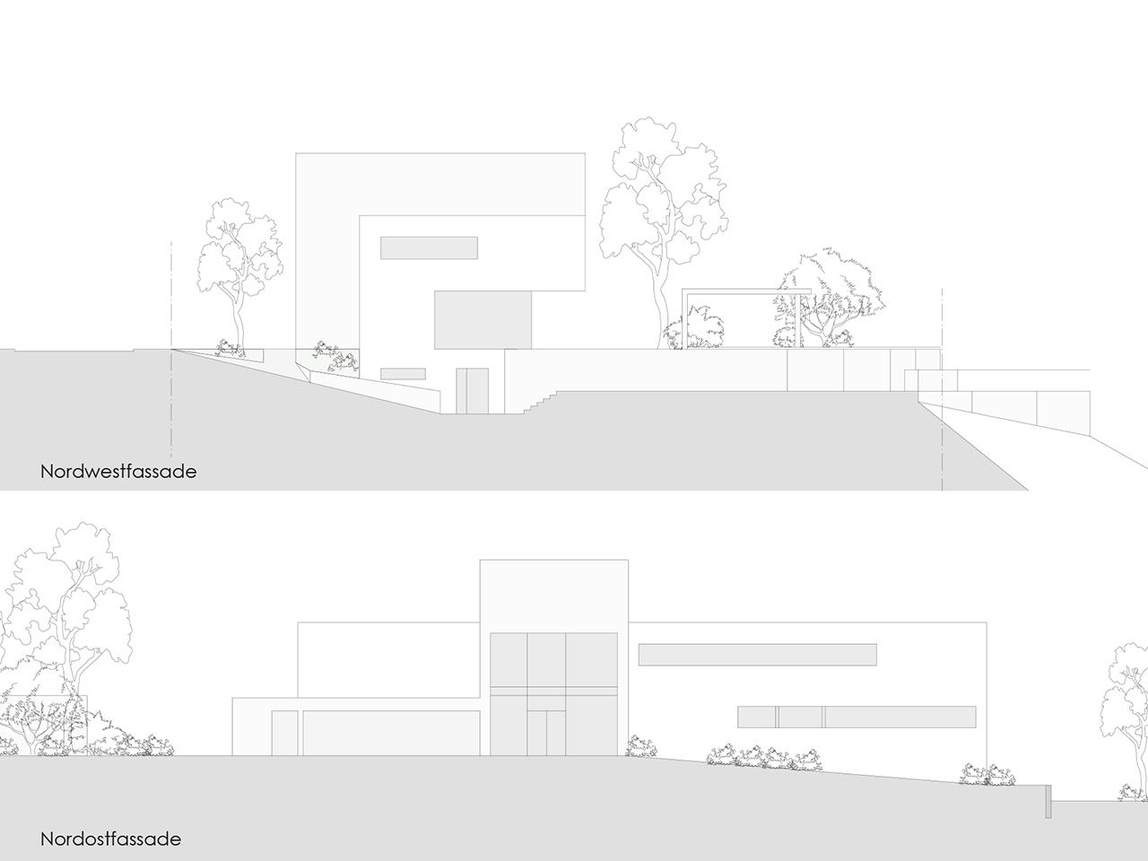 laubhus-architektur-einfamilienhaus-villa herrliberg-studie
