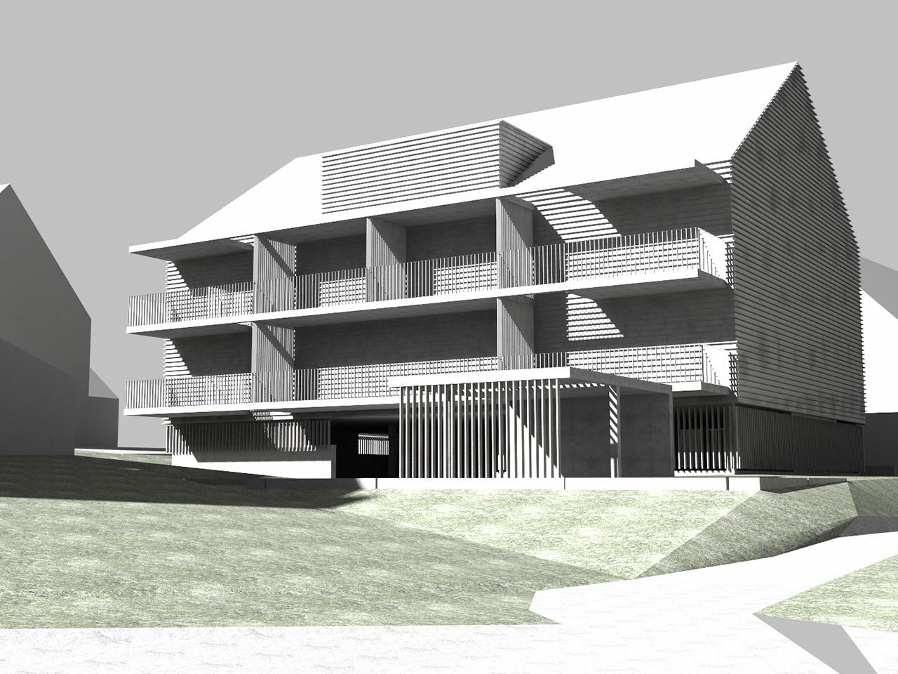 laubhus-architektur-mehrfamilienhaus-kuettigen-studie